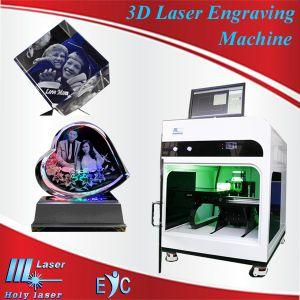 Machine de gravure laser 2D 3D pour Crystal (HSGP-4 Ko)