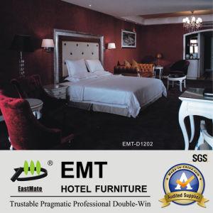 Positionnement de chambre à coucher de luxe de meubles de chambre à coucher d'hôtel (EMT-D1202)