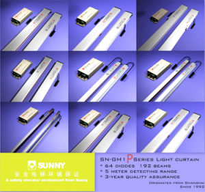 Höhenruder-Tür-Detektor UL-Fotozellen-Leuchte-Trennvorhang (SN-GM2-Z/16192P)