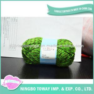 Filé de Tricotage de Rotation Teint Multicolore Fait sur Commande D'acrylique de 100%