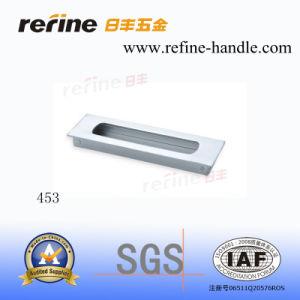 Poignée en aluminium de Cabinet de meubles (L-453)
