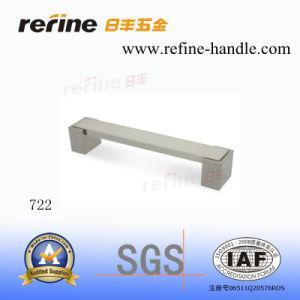 Aluminum Zinc Alloy Furntiure Hardware Cabinet Handle (T-722)