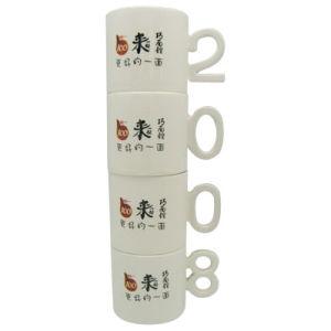 Mok van de Koffie van de Mok van het Handvat van de kunst de Ceramische