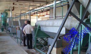 Bouteille d'ANIMAL FAMILIER réutilisant la ligne/flocons d'ANIMAL FAMILIER lavant la ligne