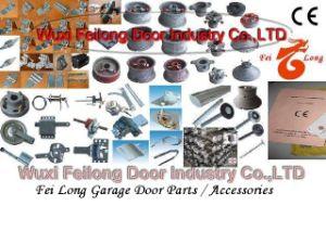 Dobradiças de porta da garagem, rolos, selos à prova de intempéries