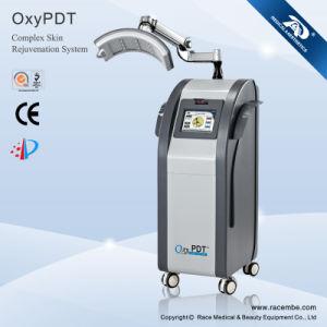 Oxypdtii - PDT avec la lumière bleue d'acné d'Insturment de beauté de thérapie d'oxygène (CE, ISO13485, since1994)