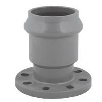 Joint caoutchouc raccords de tuyauterie en PVC norme DIN PN10