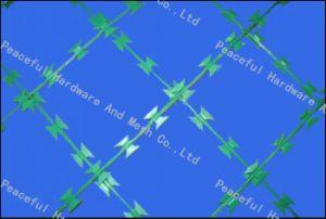 PVC-überzogener Rasierklingen-Draht (R-DPCS)