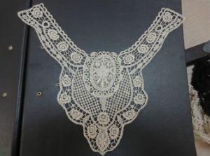 Collier 100% de vêtement de coton de /Embroidery de collier de coton (YL-45)