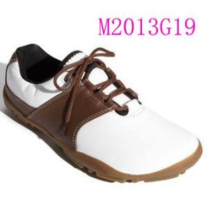 Sapatas quentes do golfe da qualidade superior da venda para homens