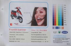 Bandeira 340g 200D*300D/18*12 do cabo flexível do PVC