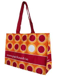 Bolso de mano tejido PP del bolso de compras