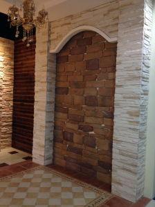 Revestimiento de piedra artificial cultura de interior al - Revestimiento piedra interior ...