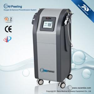 Concentrateur de l'oxygène et machine de beauté d'écaillement de peau de microdermabrasion de diamant