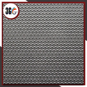 3G PVC Good Price Anti-Slip Mat avec Diamond Backing