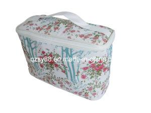 Saco cosmético do toalete do saco da impressão bonita (SYCM-005)