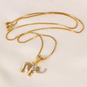 Bijoux de pendant déléphant de mode de Xuping