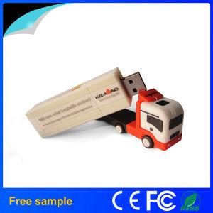 Camión de camiones USB Flash Drive Contenedor de disco USB del coche