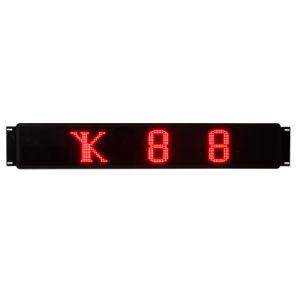 Affichage à LED de numéro de service de bus rouge unique (NLO300R)