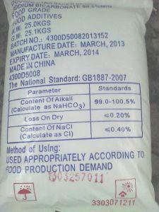 Bicarbonato de sodio (bicarbonato de sosa) (NaHCO3) (CAS: 144-55-8)