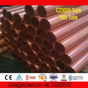 Tubo de lat n rojo c28000 c23000 c2300 cuzn15 tubo de for Tubo corrugado rojo precio