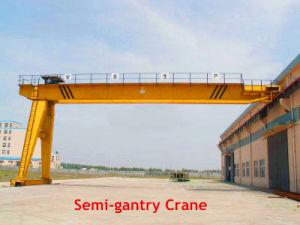 Solo Girder Semi Gantry Crane para Sale con Top Quality (BMH)