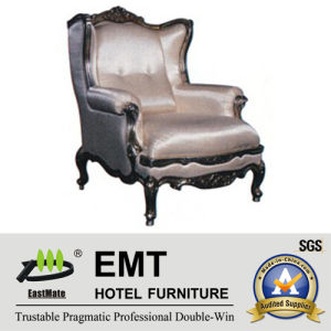 Chaise en bois de meubles luxueux d'hôtel (EMT-HC95)