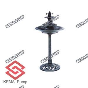 Fountain (W/Pump)の樹脂Birdbath