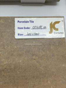 60X60cm Double Loading Matt Porcelain Tile (QJ6185M)