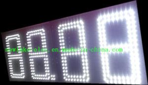 Affichage extérieur approuvé par CE de prix du gaz de DEL