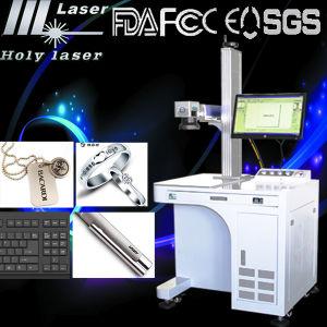 Machine extérieure d'inscription de laser de fibre pour le métal (HS GQ-10W)