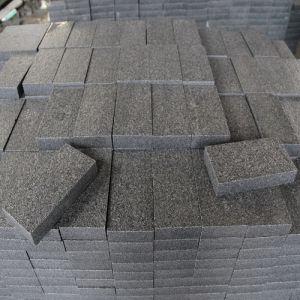 natural gris marrn negro piedra de granito g pavimento piedras cbicas flamed para el jardn acera plaza suelos