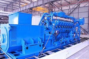 Радиальная турбина поручая тепловозный комплект генератора