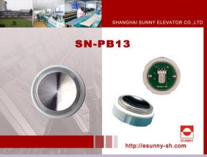 Blaue LED beleuchtet Drucktaste (SN-PB13)