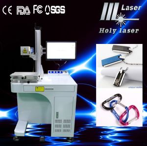 Laser de fibre Marking Machine pour Metal Sheet Gift (HSGQ-20W)