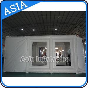 Garage provvisorio gonfiabile dalla cabina di spruzzo for Piani di garage in cabina
