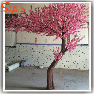 Arbre artificiel rose d coratif ext rieur ou d 39 int rieur for Arbre decoratif exterieur