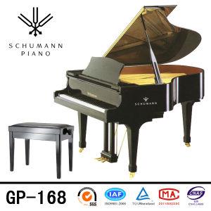 Instruments de musique de piano à queue de noir de Schumann (GP-168)