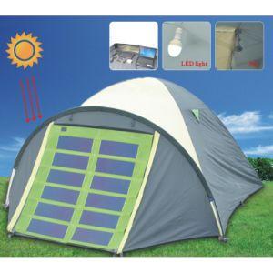 tente solaire de produit vert d 39 nergie avec le chargeur st01 de panneaux solaires tente. Black Bedroom Furniture Sets. Home Design Ideas