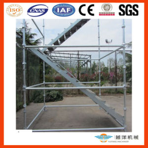 Placa do Sistema-Aço do andaime de Cuplock (CS-SB)