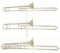 Trombone de /Junior d'instrument en laiton/Trombone/Trombone de teneur (TBB-L)