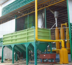 завод пиролиза биомассы 200kw