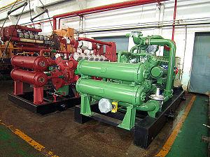 комплект генератора газа газа угля 600kw
