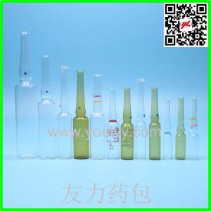 Bouteille d'ampoule en verre