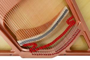 Piano droit noir d'instruments de musique (E2-121) Schumann