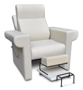 Silla moderna de pedicure de los muebles del sal n de for Sillas para pedicure