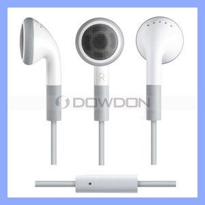 Mobiler Hifi Stereolithographie-Kopfhörer des Weiß-3.5mm für iPhone iPad iPod Kopfhörer mit Mic