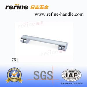 Poignée en aluminium de Cabinet de matériel de meubles (L-751)