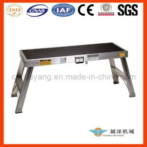 Plataforma de trabalho de alumínio da escada