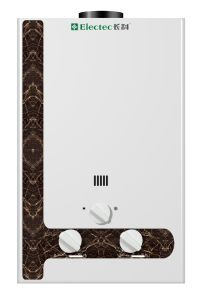 Calentador de agua de gas Calefacción atractivo panel de la impresión (JSD-PS1)
